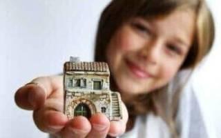Можно ли оформить дом на несовершеннолетнего ребенка