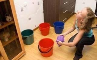 Что делать если затопили квартиру соседи сверху