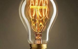 Замена электрических ламп без упаковки