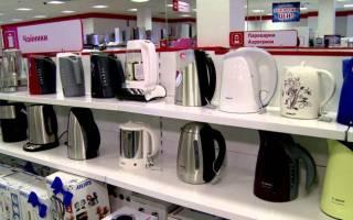 Если электрический чайник воняет и магазин отказывается возвращать деньги