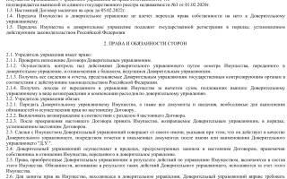 Договор доверительного управления имуществом (по ГК РФ)