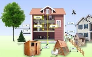 Как близко можно строить дом к забору