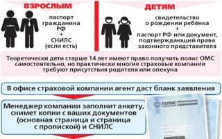 Как в москве заменить полис другого региона
