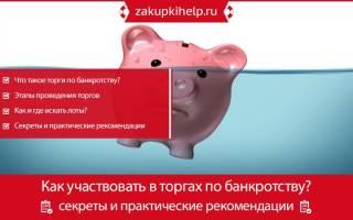 Как участвовать в аукционах по банкротству