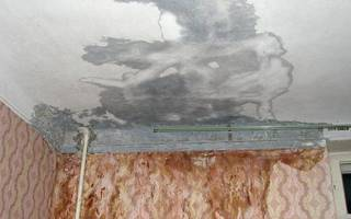 Потекла крыша в квартире что делать
