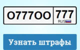 Гибдд штрафы проверить по г тольятти 2020