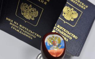 Грожданские права проживающего в россии по статусу вида на жительство