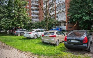 Закон что нельзя парковаться на газоне