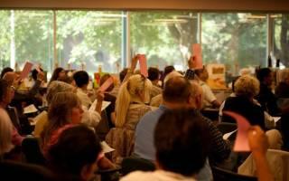 Доверенность на голосование на общем собрании собственников