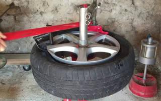Бортировка колес своими руками