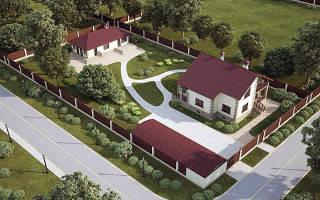 Строительство дома на дачном участке нормы