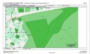 План границ земельного участка по кадастровому номеру