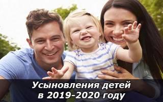 Наследование усыновленными детьми 2020 год