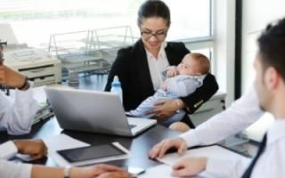 Как написать заявление на неполный рабочий день во время декретного отпуска