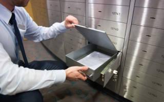 Как пользоваться банковской ячейкой при продаже квартиры
