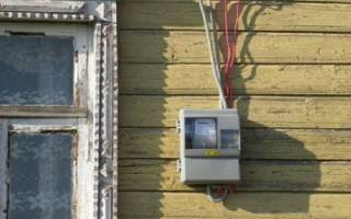 Вынос счетчика электроэнергии на улицу закон